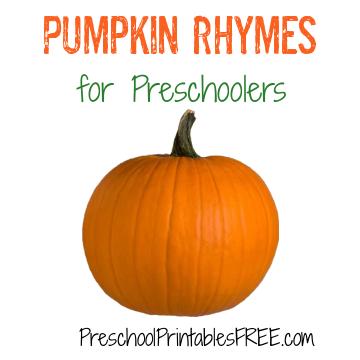 Pumpkin Action Rhymes